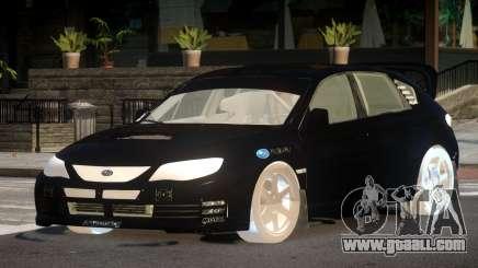 Subaru Impreza WRX RC for GTA 4