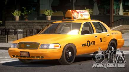 Ford Crown Victoria LS Taxi for GTA 4