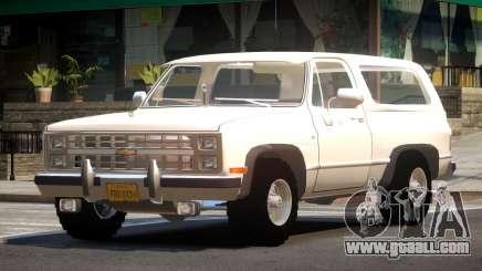 Chevrolet Blazer K5 OR for GTA 4