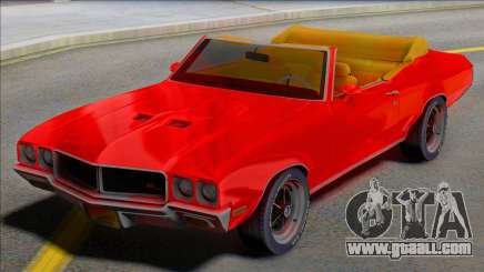 1970 Buick GS Cabrio - Juice WRLD Edition for GTA San Andreas