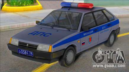 Vaz 2109 DPS st. Petersburg for GTA San Andreas