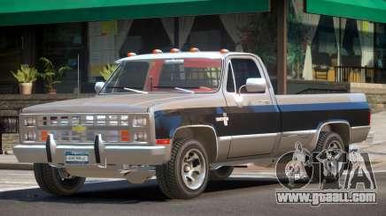 Chevrolet Silverado ST V1.0 for GTA 4