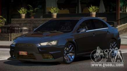 Mitsubishi Lancer X BS for GTA 4