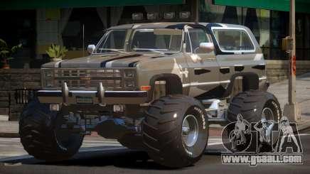 Chevrolet Blazer Custom PJ4 for GTA 4