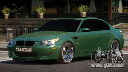 BMW M5 E60 MR for GTA 4