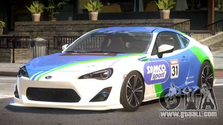 Subaru BRZ GT Sport PJ2 for GTA 4
