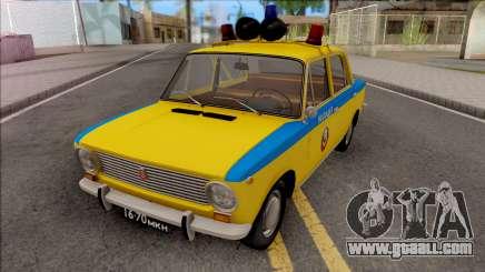 VAZ 2101 TRAFFIC POLICE 1975 for GTA San Andreas
