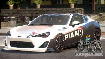 Subaru BRZ GT Sport PJ4 for GTA 4