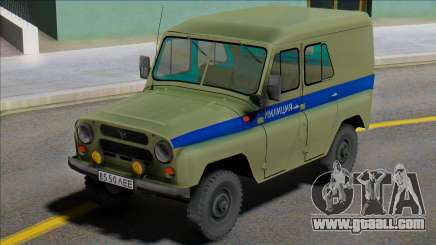 Uaz-469 Leningrad Police for GTA San Andreas