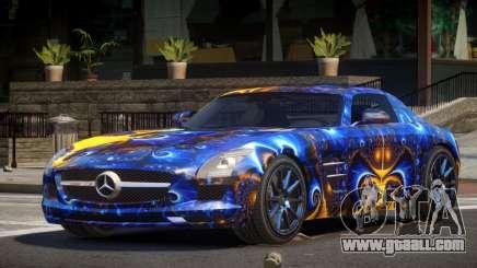 Mercedes Benz SLS AMG GS PJ3 for GTA 4