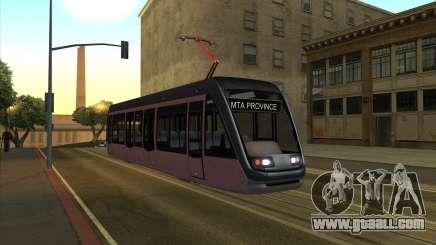 CNR TRAM for GTA San Andreas