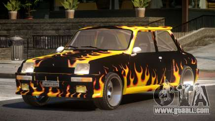 Renault 5 RS PJ3 for GTA 4