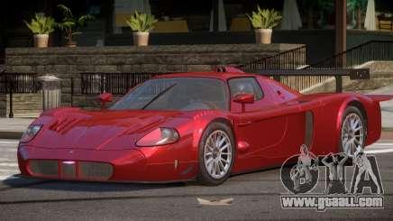 Maserati MC12 BS for GTA 4