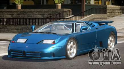 1992 Bugatti EB110 for GTA 4