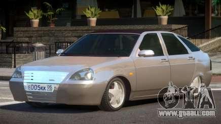 Lada Priora 2170 HK for GTA 4