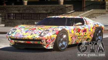 Lamborghini Miura SC PJ1 for GTA 4