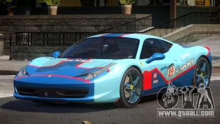 Ferrari 458 PSI PJ4 for GTA 4
