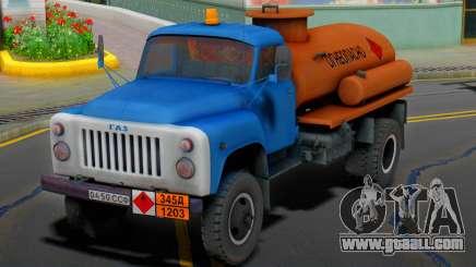 GAZ 53 Flammable for GTA San Andreas