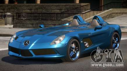 Mercedes Benz SLR Z199 for GTA 4