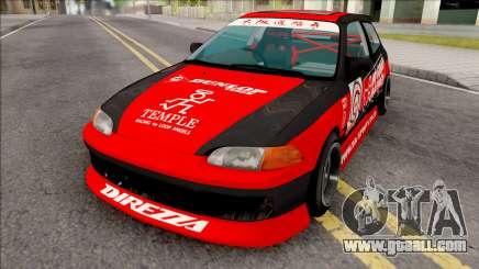 Honda Civic EG6 BN Sports for GTA San Andreas