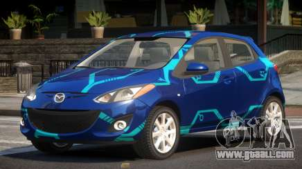 Mazda 2 RS PJ2 for GTA 4