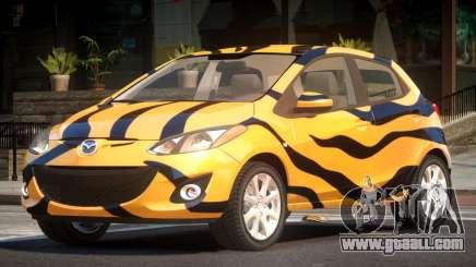 Mazda 2 RS PJ5 for GTA 4