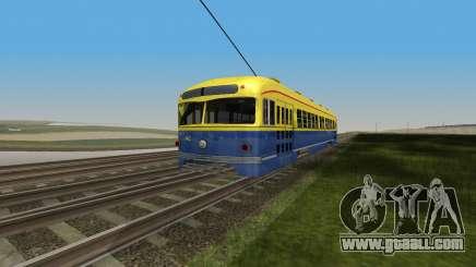 Tram PCC for GTA San Andreas