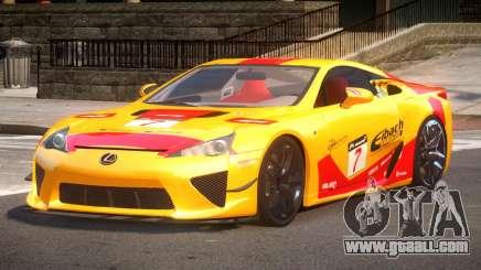 Lexus LFA Nurburgring Edition PJ4 for GTA 4