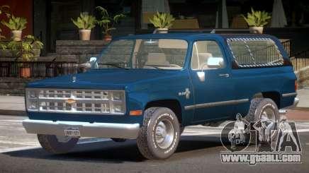Chevrolet Blazer ST for GTA 4