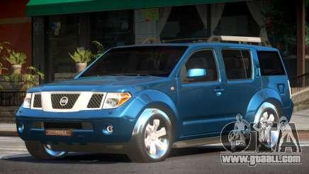 Nissan Pathfinder V1.2 for GTA 4