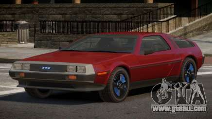 DeLorean DMC-12 RT for GTA 4