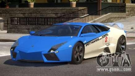Lambor Reventon GRS PJ5 for GTA 4