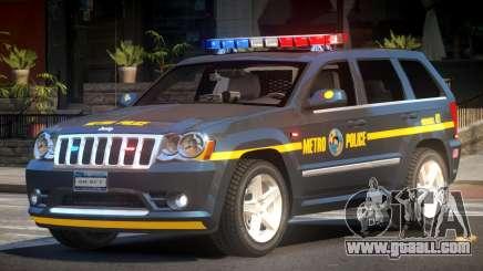 Jeep Grand Cherokee Police V1.1 for GTA 4