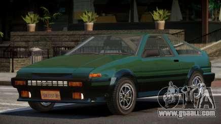 Toyota Corolla AE86 V1.0 for GTA 4