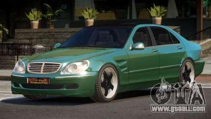 Mercedes Benz S550 V1.1 for GTA 4