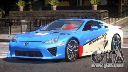 Lexus LFA Nurburgring Edition PJ5 for GTA 4