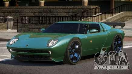 Lamborghini Miura SC for GTA 4