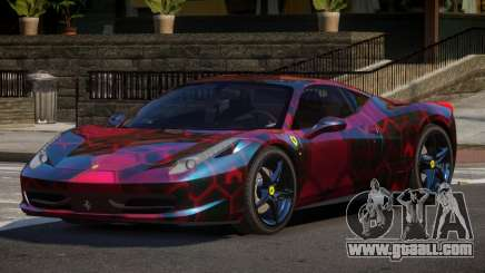 Ferrari 458 PSI PJ3 for GTA 4