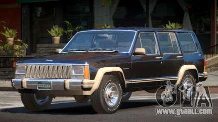 1986 Jeep Cherokee for GTA 4