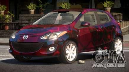 Mazda 2 RS PJ3 for GTA 4
