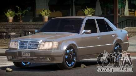 Mercedes Benz W124 LT for GTA 4