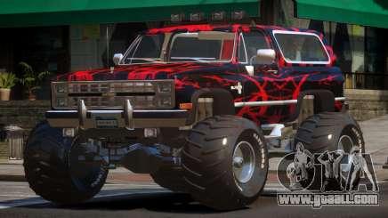 Chevrolet Blazer Custom PJ6 for GTA 4