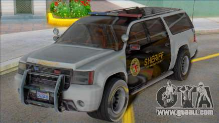 2007 Chevrolet Suburban Sheriff (Granger style) for GTA San Andreas
