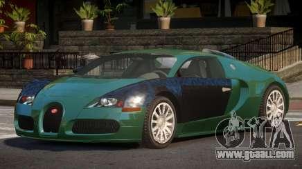 Bugatti Veyron MS for GTA 4