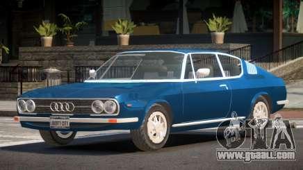 1972 Audi 100 HK for GTA 4