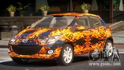 Mazda 2 RS PJ1 for GTA 4
