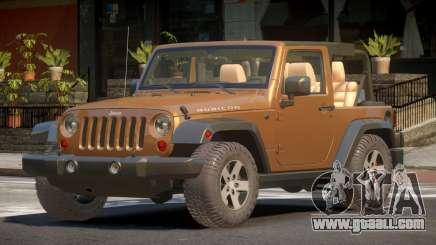 Jeep Wrangler RT for GTA 4