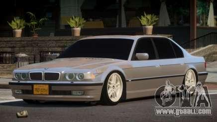 1996 BMW 750iL E38 for GTA 4