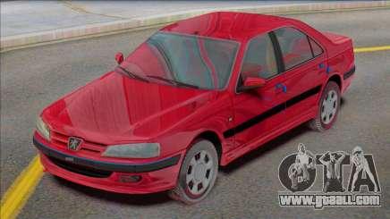 Peugeot Pars TU5 Factory for GTA San Andreas