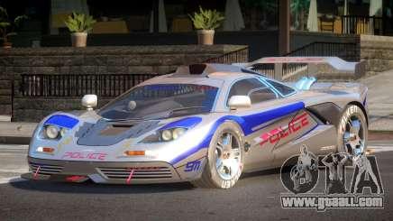 McLaren F1 Police V1.0 for GTA 4